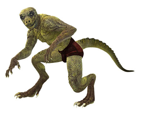 ¿Cuál es la teoría del origen de los reptilianos?